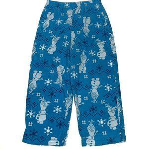 Frozen 2 Olaf Pajama Bottom Pants Size 6 Unisex